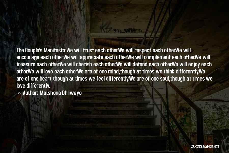 Matshona Dhliwayo Quotes 1176846
