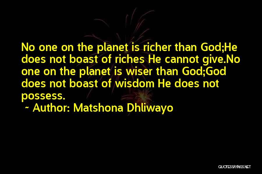 Matshona Dhliwayo Quotes 1192223