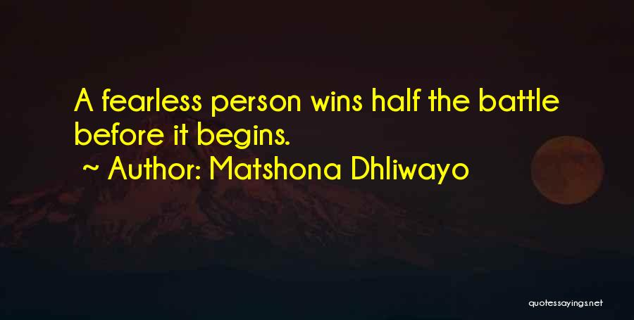 Matshona Dhliwayo Quotes 1302931