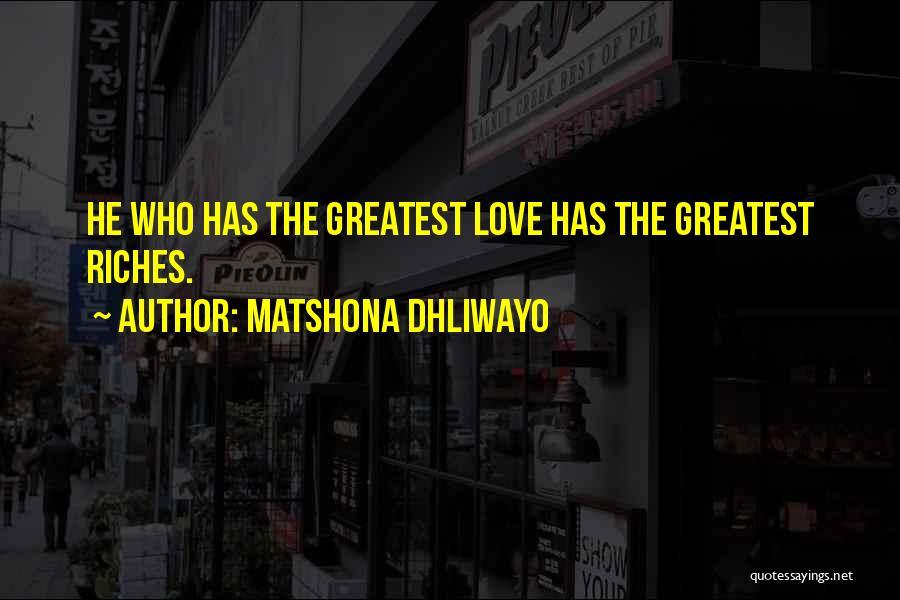 Matshona Dhliwayo Quotes 1308881