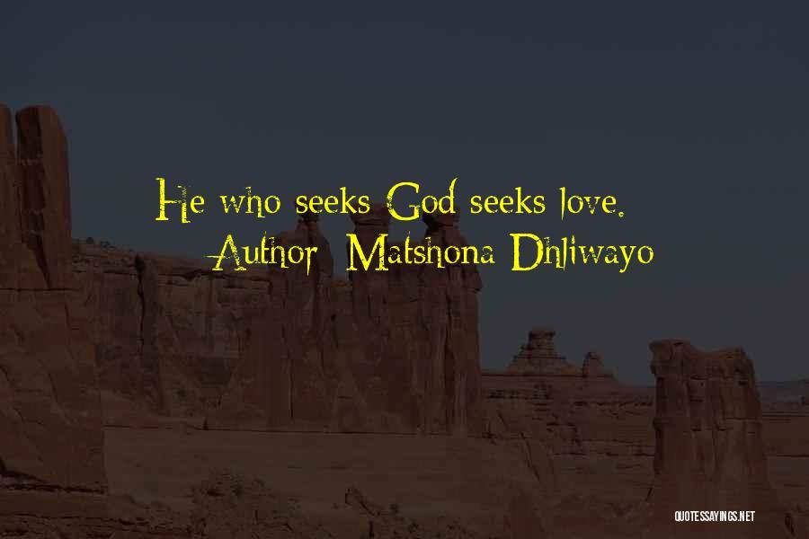 Matshona Dhliwayo Quotes 1442305