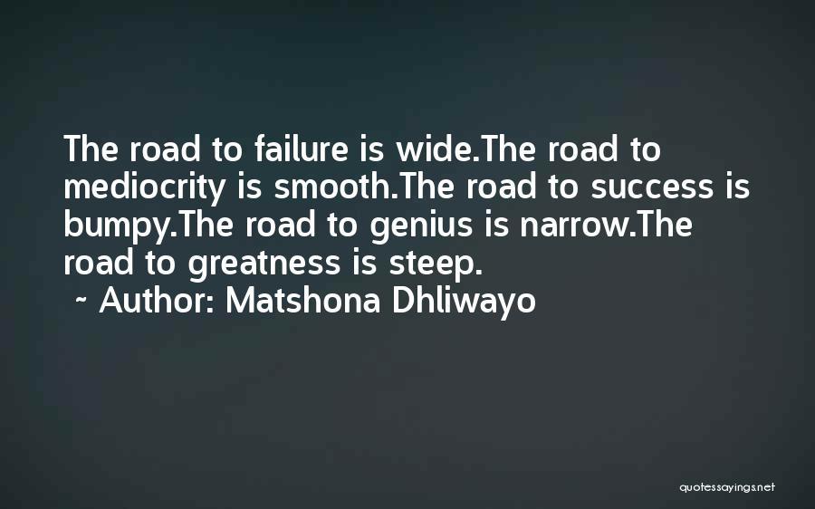 Matshona Dhliwayo Quotes 1575408