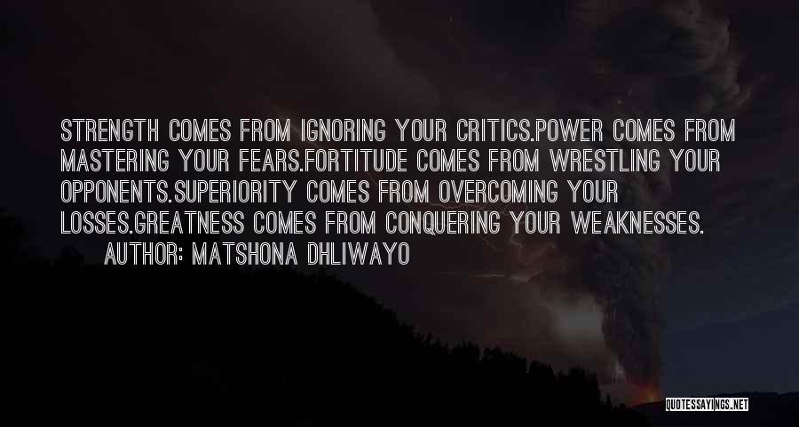 Matshona Dhliwayo Quotes 1632590
