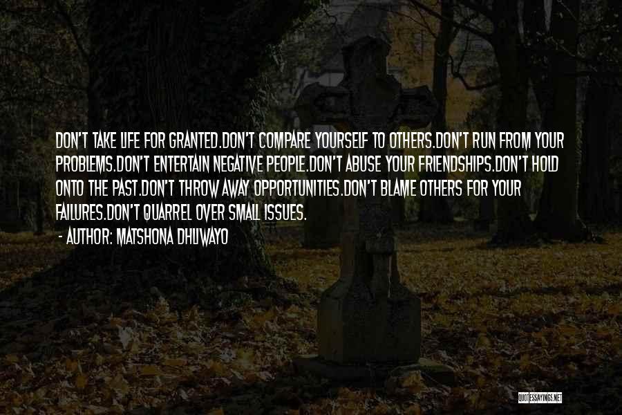 Matshona Dhliwayo Quotes 1865980