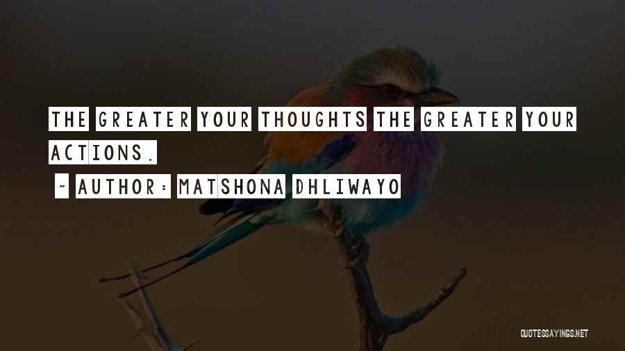 Matshona Dhliwayo Quotes 1929470