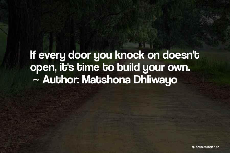 Matshona Dhliwayo Quotes 2141364