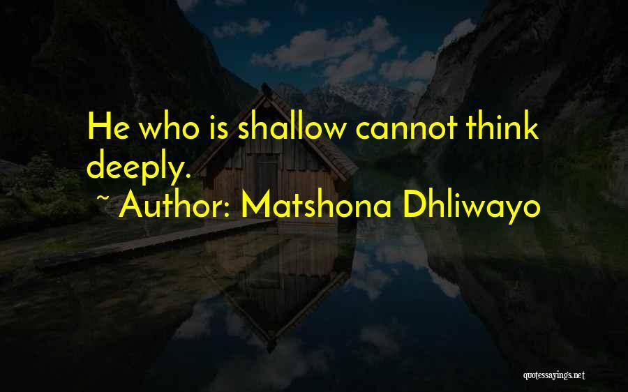 Matshona Dhliwayo Quotes 2150027