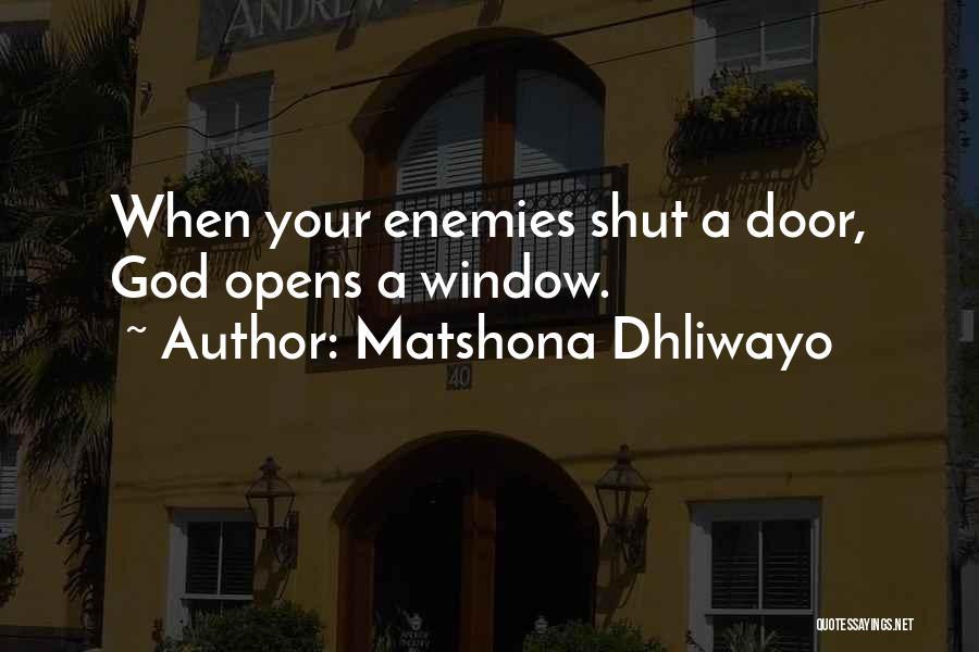 Matshona Dhliwayo Quotes 217040