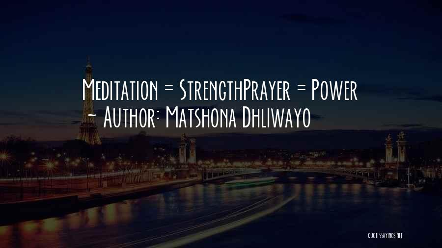 Matshona Dhliwayo Quotes 217404