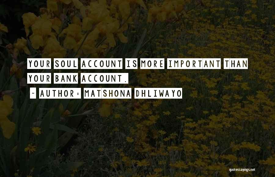 Matshona Dhliwayo Quotes 2207052