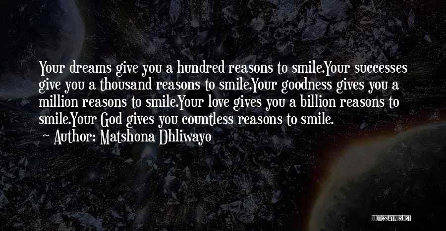 Matshona Dhliwayo Quotes 222768