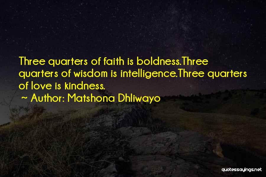 Matshona Dhliwayo Quotes 2234639