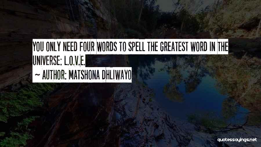 Matshona Dhliwayo Quotes 341570