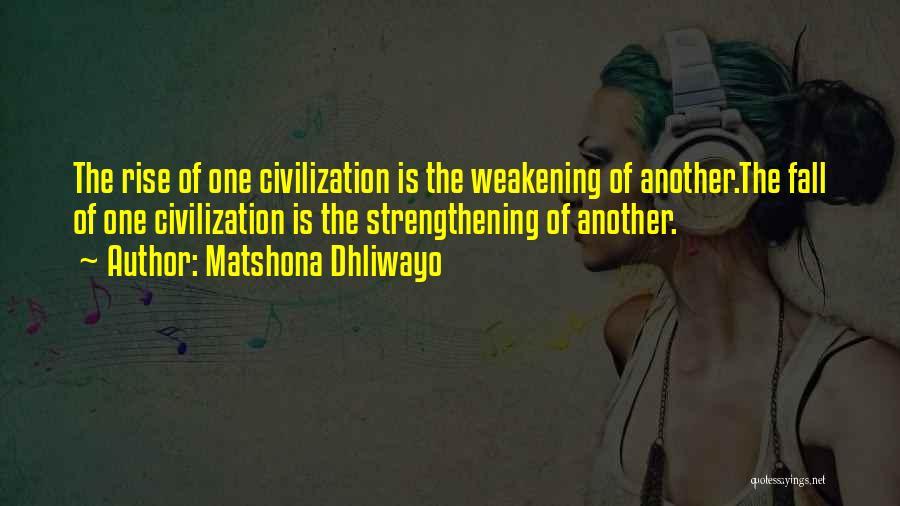 Matshona Dhliwayo Quotes 562181