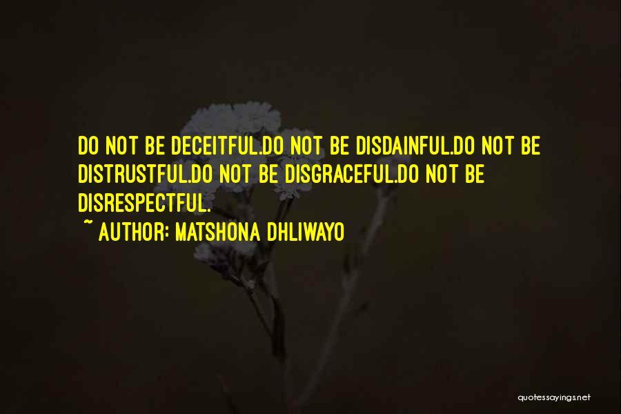 Matshona Dhliwayo Quotes 722609