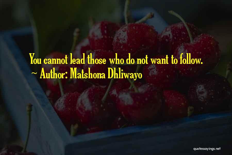 Matshona Dhliwayo Quotes 850117