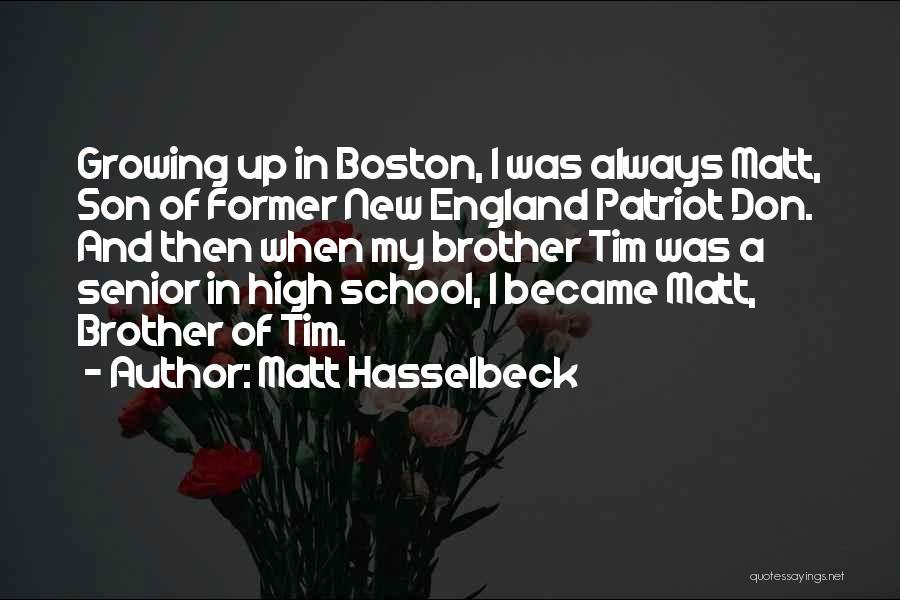 Matt Hasselbeck Quotes 977909