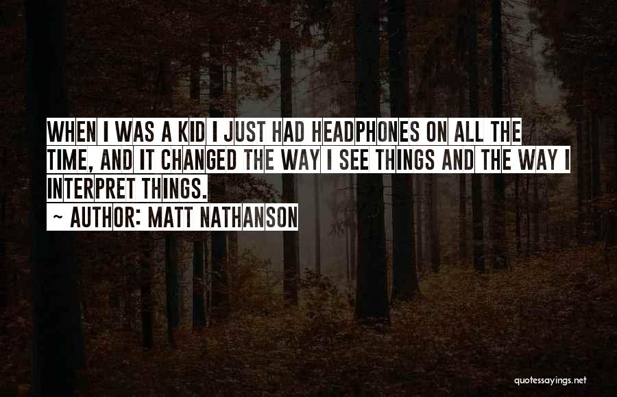 Matt Nathanson Quotes 1099257