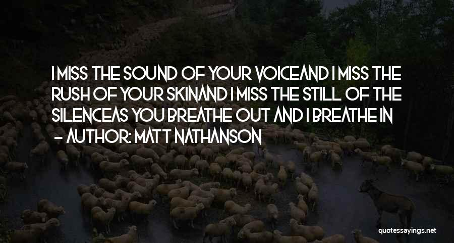 Matt Nathanson Quotes 1501267