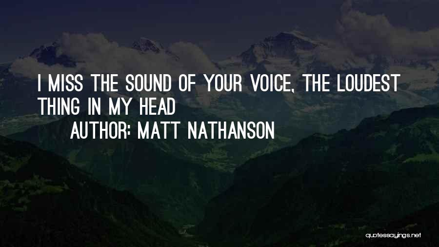 Matt Nathanson Quotes 236103