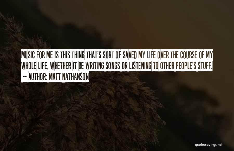 Matt Nathanson Quotes 570423