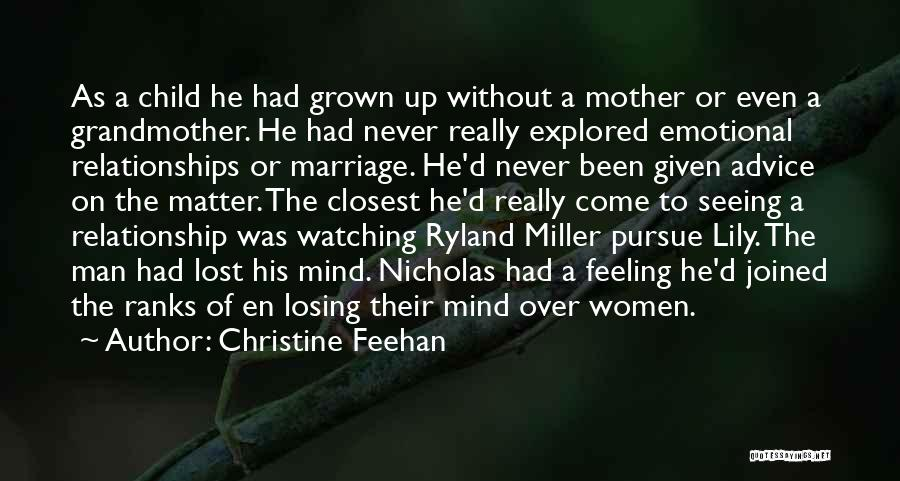 Matter Over Mind Quotes By Christine Feehan