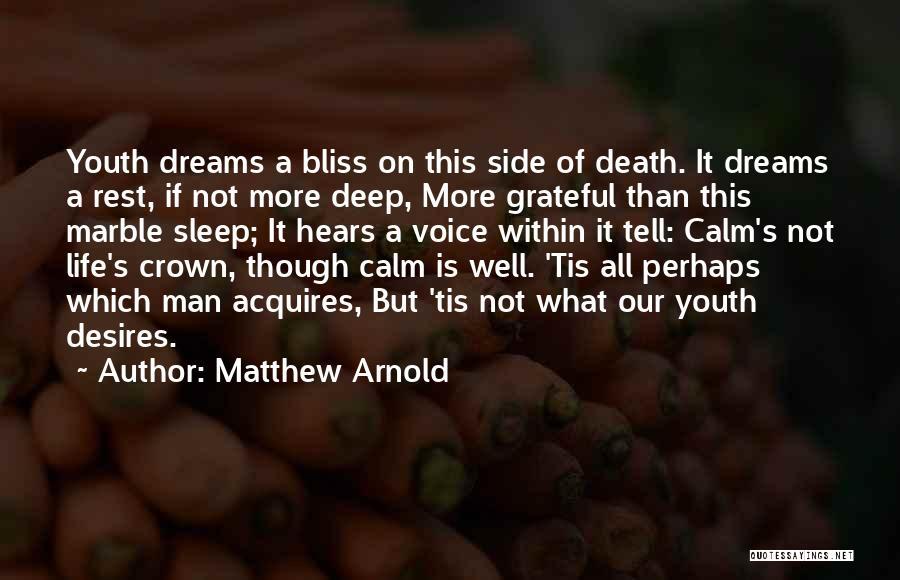 Matthew Arnold Quotes 1037074