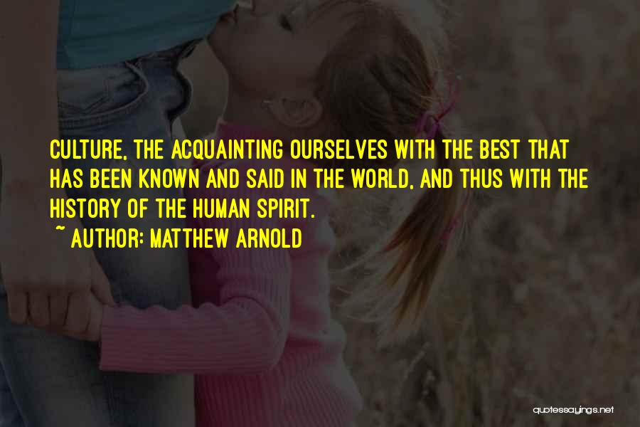 Matthew Arnold Quotes 1095457