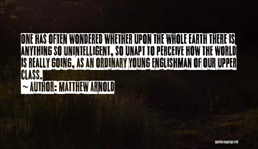 Matthew Arnold Quotes 1175162
