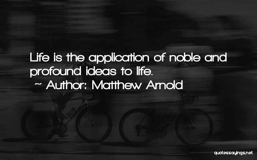 Matthew Arnold Quotes 1281150
