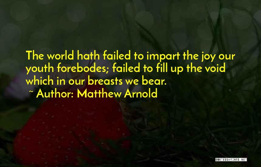 Matthew Arnold Quotes 1358317