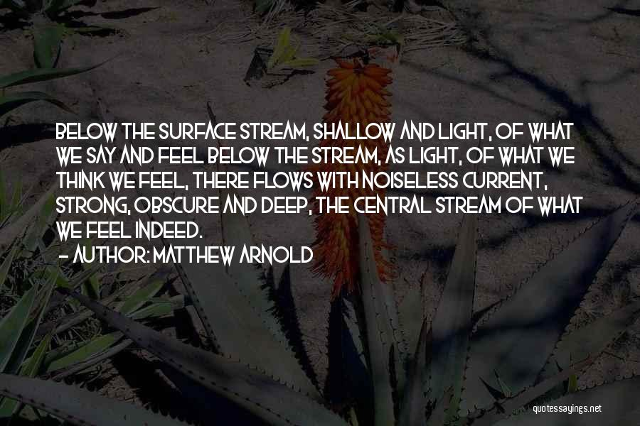 Matthew Arnold Quotes 1410758