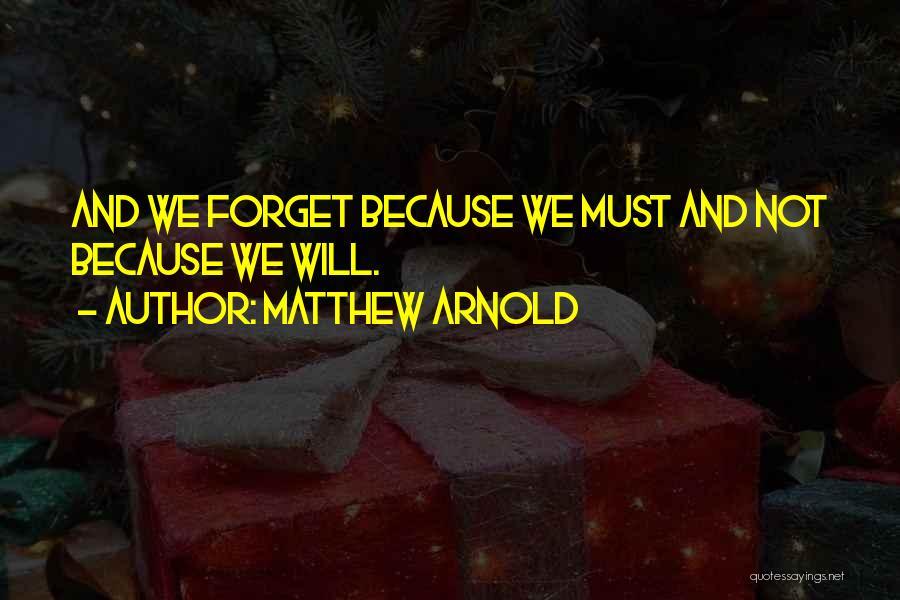 Matthew Arnold Quotes 1430011