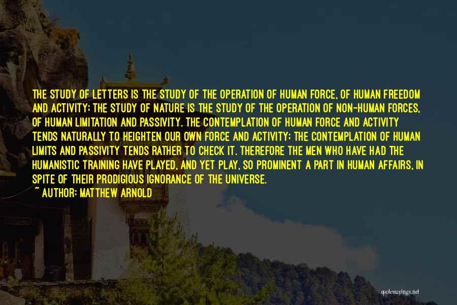 Matthew Arnold Quotes 1440745