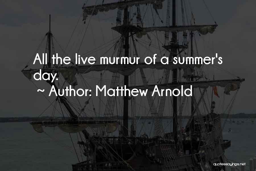 Matthew Arnold Quotes 1455126