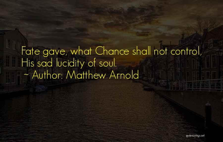 Matthew Arnold Quotes 1483621