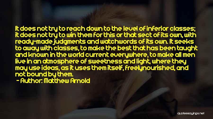Matthew Arnold Quotes 1547681