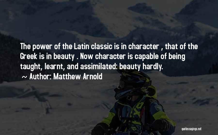Matthew Arnold Quotes 1602556
