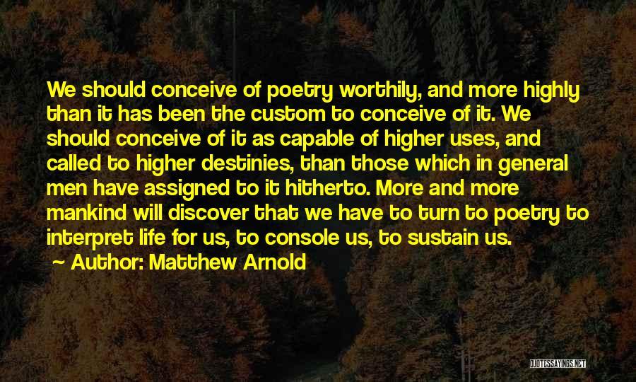 Matthew Arnold Quotes 1804295