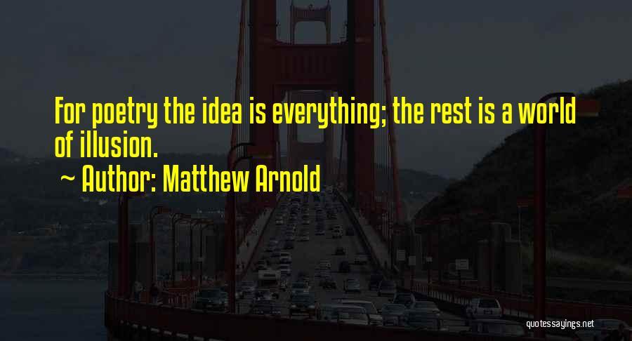 Matthew Arnold Quotes 1813905