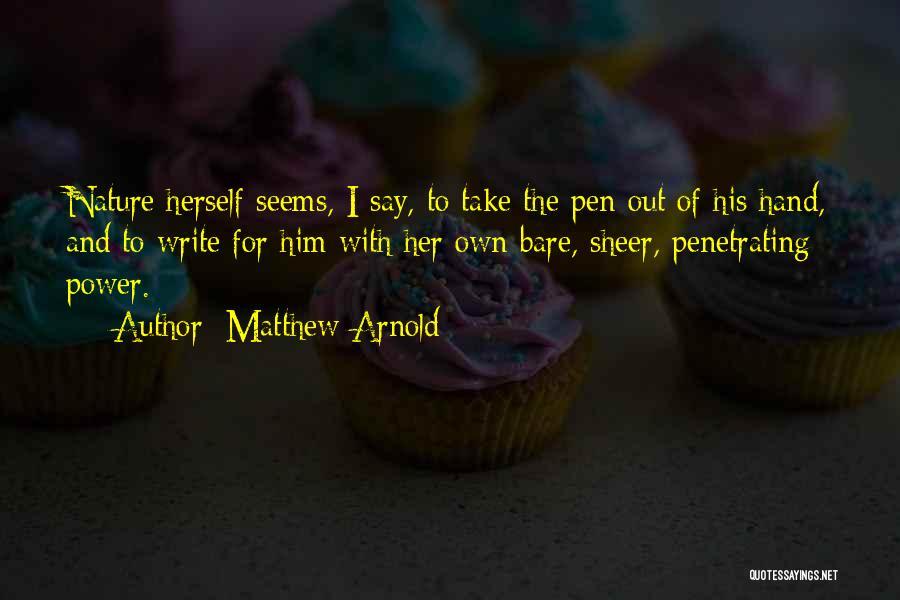 Matthew Arnold Quotes 1958333