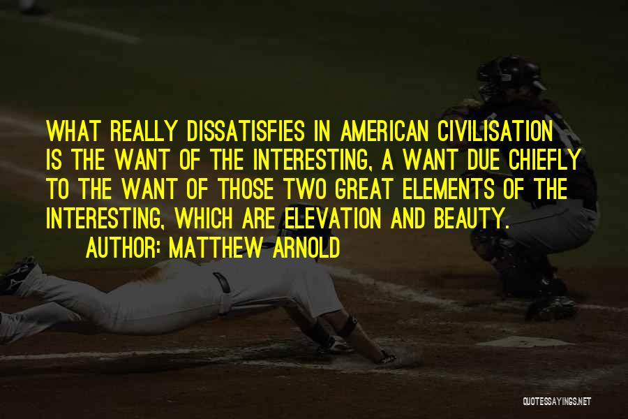 Matthew Arnold Quotes 197259