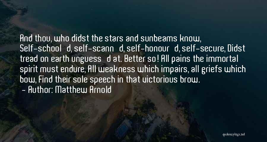 Matthew Arnold Quotes 1973248