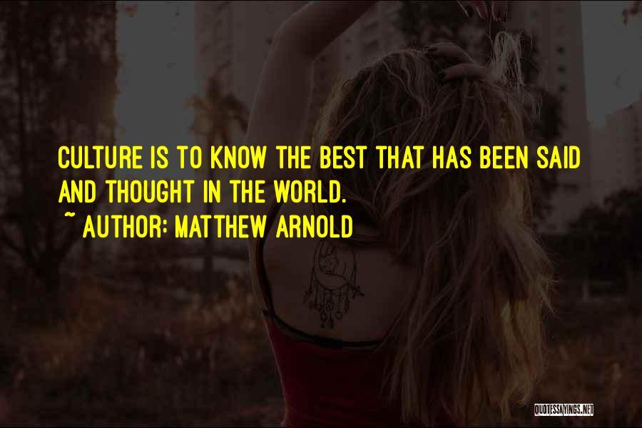 Matthew Arnold Quotes 1982055