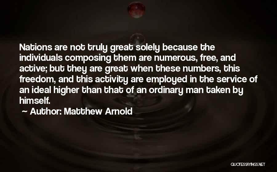Matthew Arnold Quotes 2127306