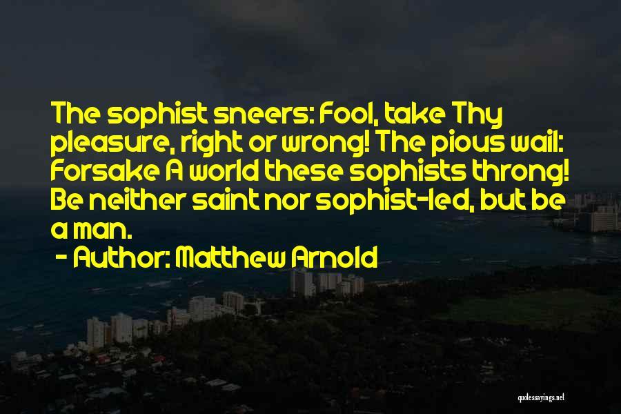 Matthew Arnold Quotes 2247499