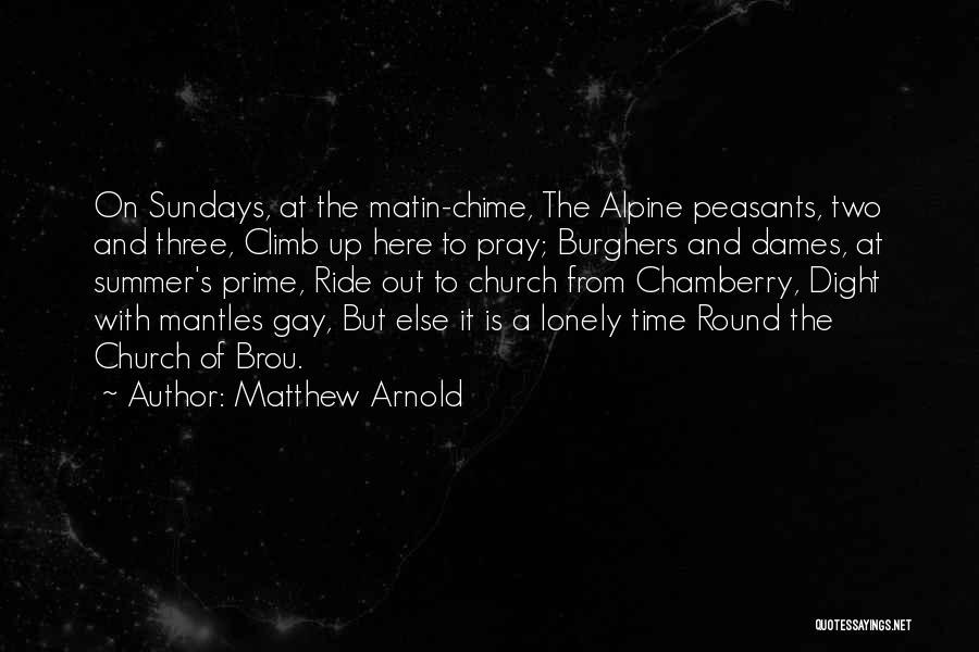 Matthew Arnold Quotes 397086