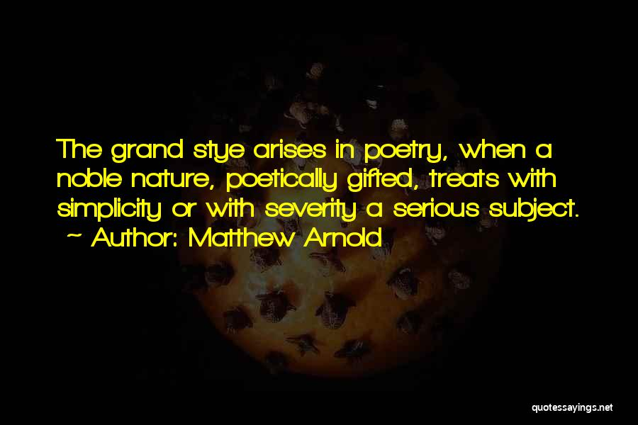 Matthew Arnold Quotes 678081