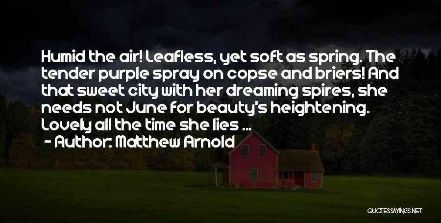 Matthew Arnold Quotes 736204