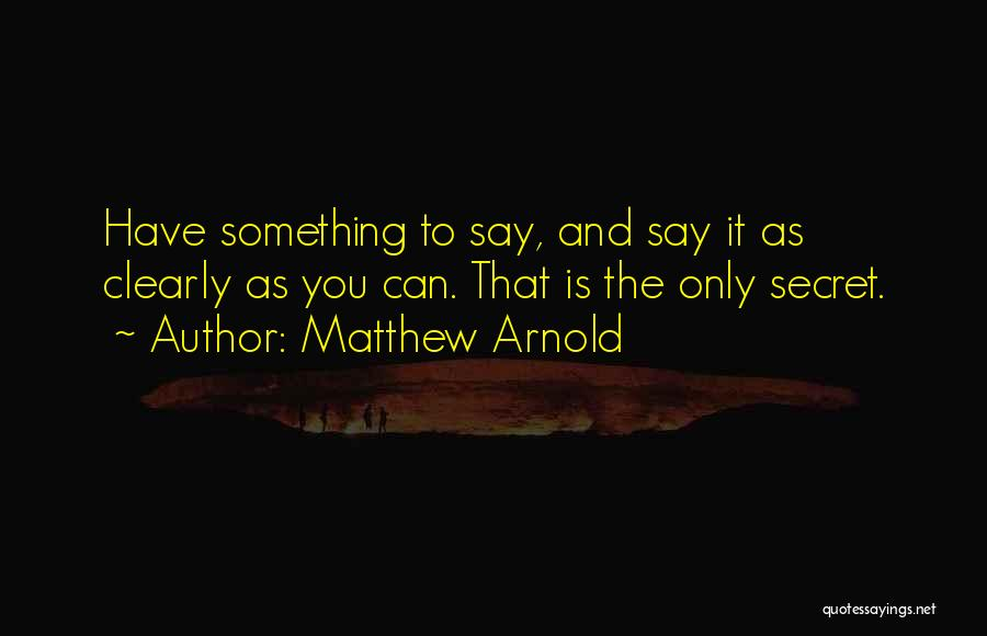 Matthew Arnold Quotes 766769